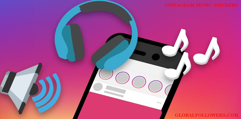 Instagram Music Stickers