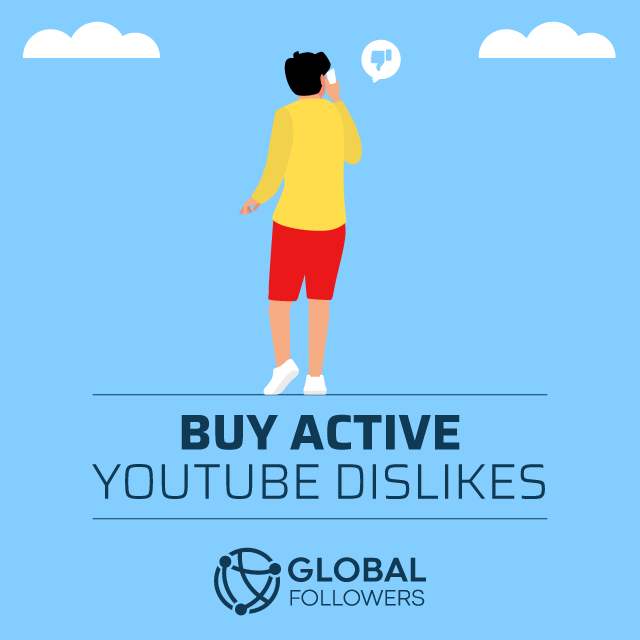 buy active youtube dislikes
