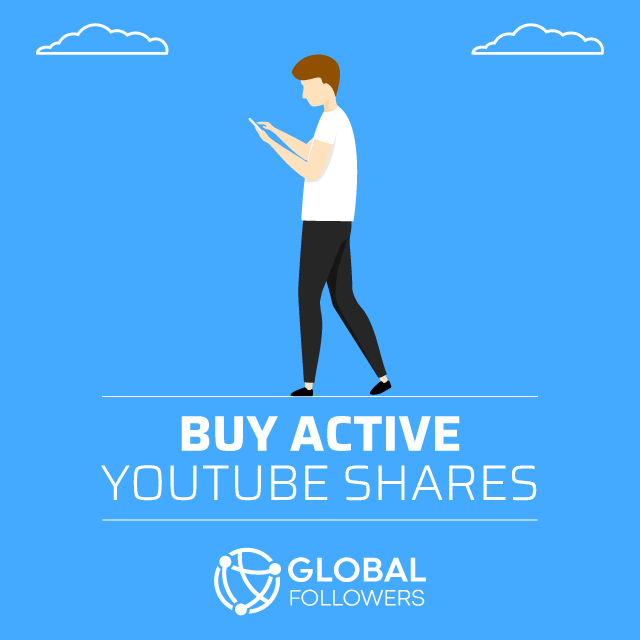buy active youtube shares