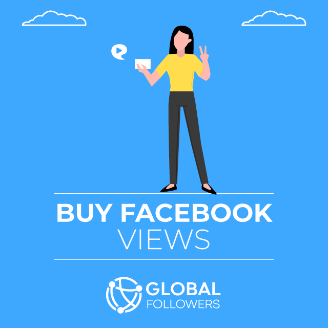 Buy Facebook Video Views - 100% Active & Real
