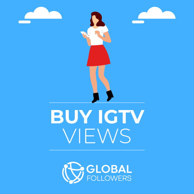 Buy Instagram IGTV Video Views - 100% Safe & Real