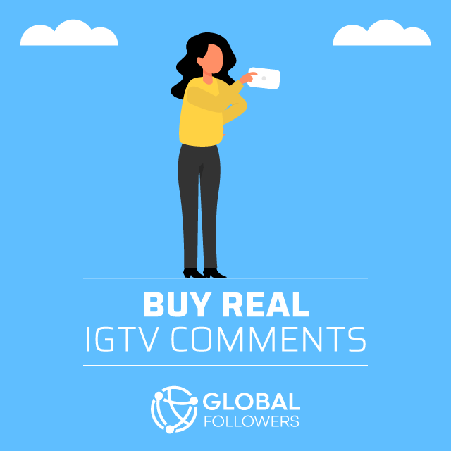 buy real igtv comments