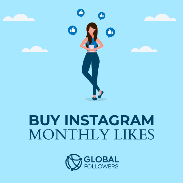 Buy Monthly Instagram Likes - Active & Real!