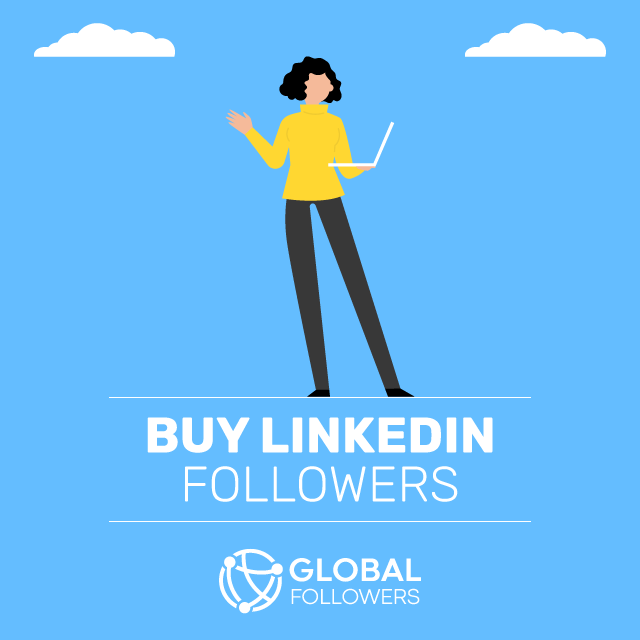 Buy Linkedin Followers - 100% Real & Safe