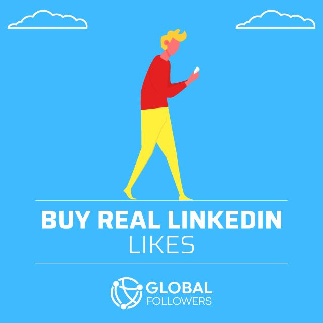 Buy Real Linkedin Likes