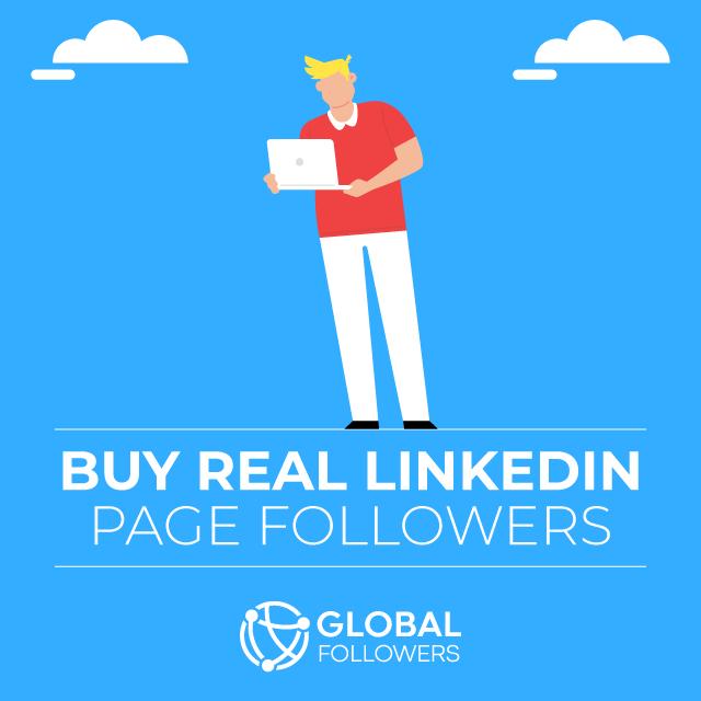 Buy Real Linkedin Page Followers