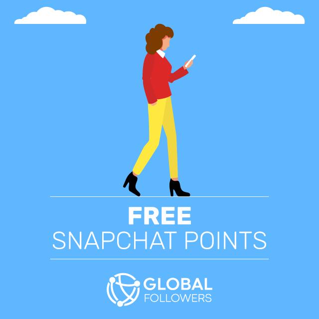 free snapchat points