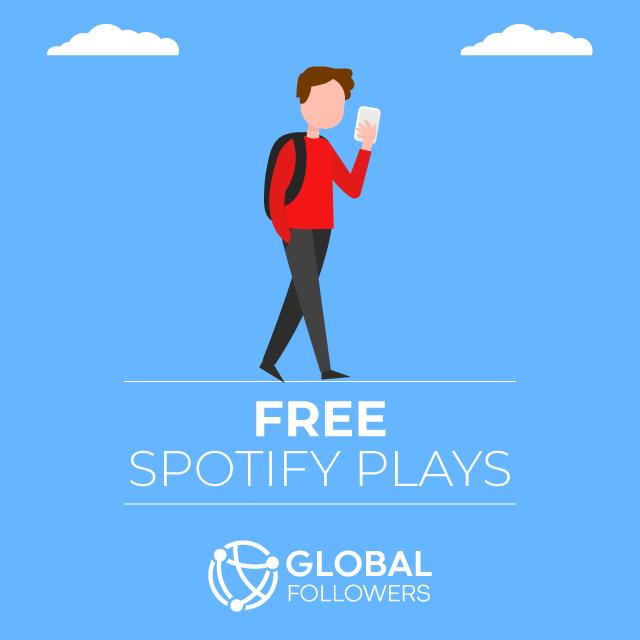 free spotify plays