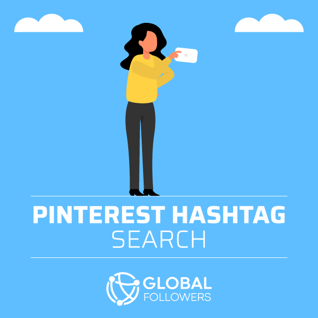 pinterest hashtag Search