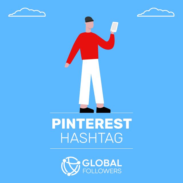 pinterest hashtag
