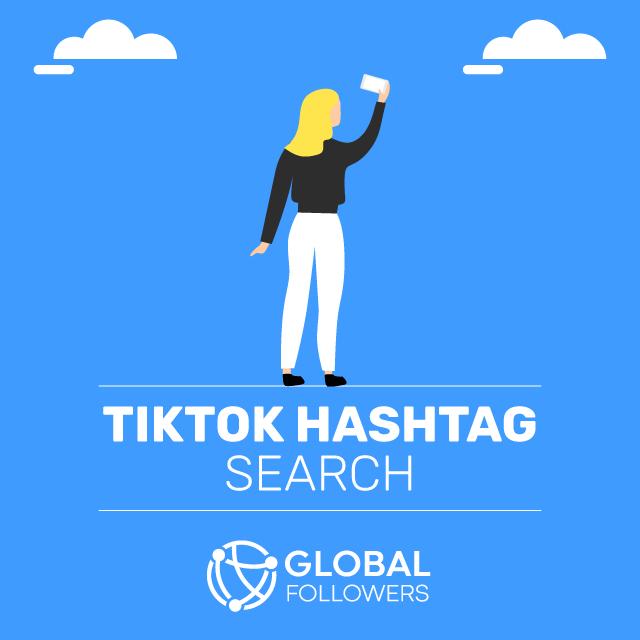 tiktok hashtah search